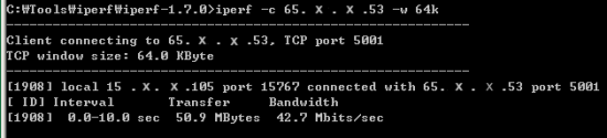 Internet Speed Issue – How to troubleshoot(IPERF) – www
