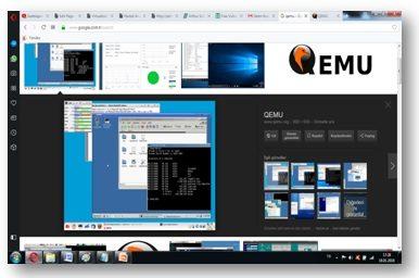 Virtualization Machine   Vmware   VirtualBox   Qemu etc ...