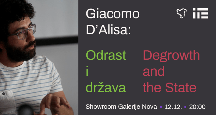 Giacomo D'Alisa: Degrowth and the State