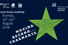 Green Academy 2018: Moving Beyond Fragments