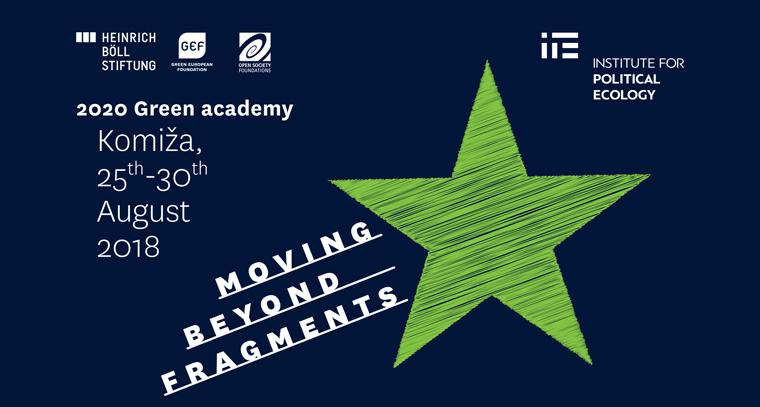 Zelena Akademija 2018. – Moving Beyond Fragments