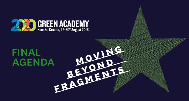 Green Academy 2018 Final Agenda!