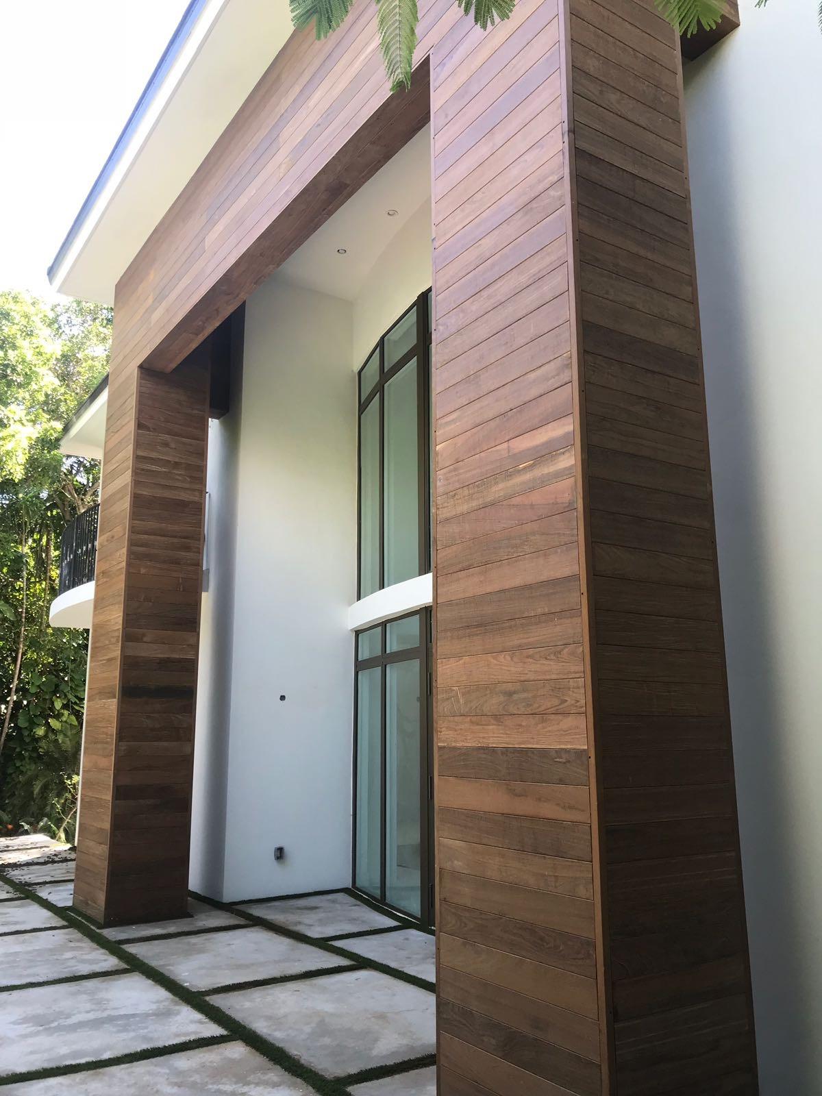 Modern Miami Siding - Ipe Decking Installation Miami on Modern Siding  id=69472