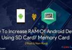 Increase RAM of Any Android Device
