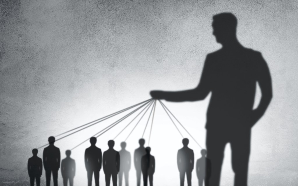 micromanager control freak playing with people like puppets