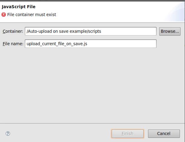 New JavaScript File