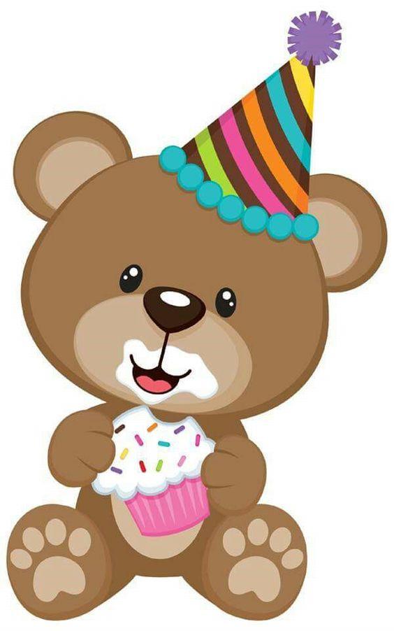 Ursinho na festa de aniversário