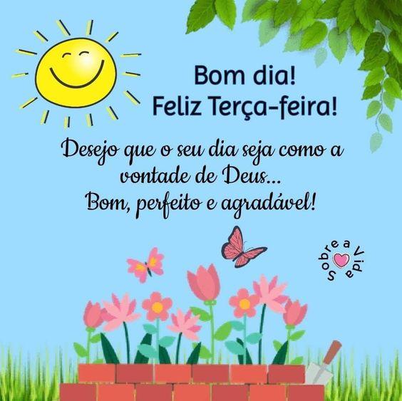 Bom dia terça-feira na vontade de Deus