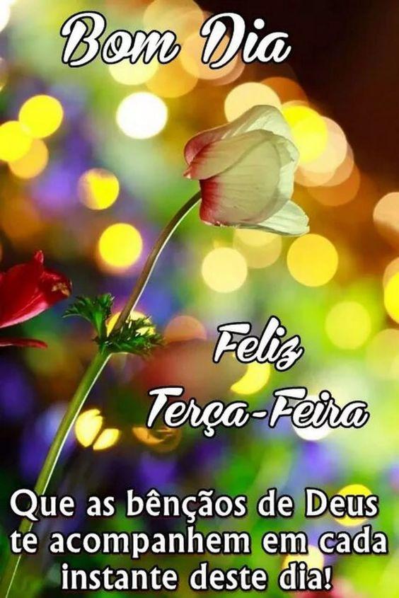 Bom dia terça-feira com as bênçãos de Deus