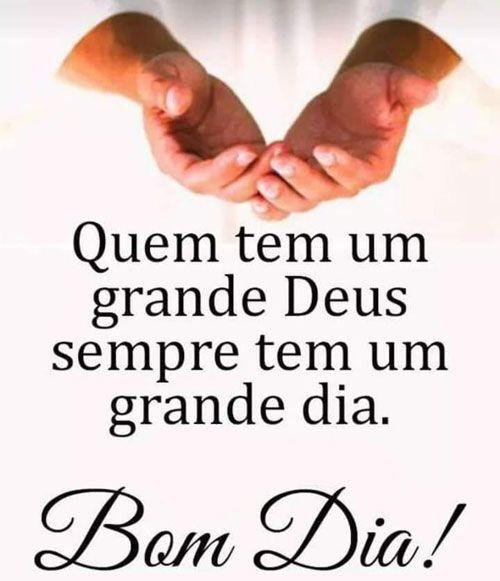 Grande dia com Deus