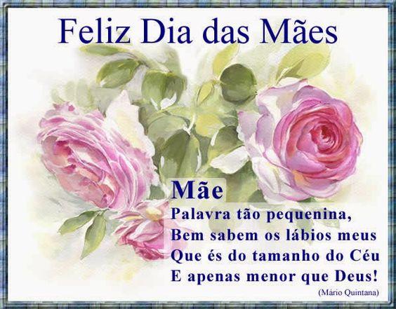 Mensagem dia das mães de Mário Quintana