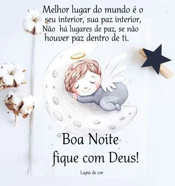 Boa noite fique com Deus