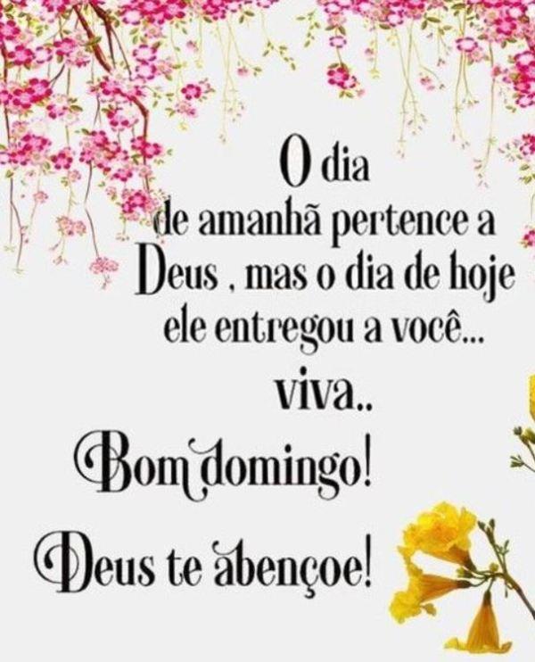 O dia pertence a Deus