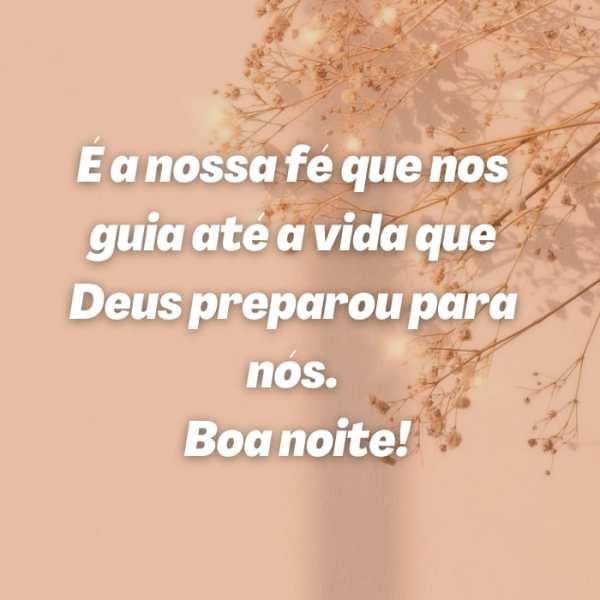 Mensagens de Boa noite com a Proteção de Deus