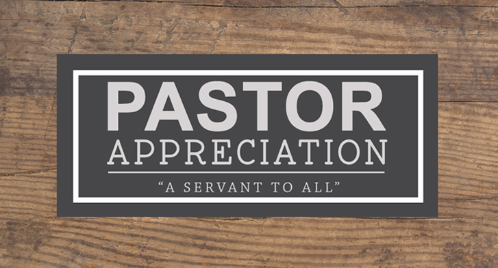 Discipleship Pastor Appreciation
