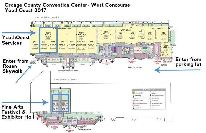 Orange County Convention Center Floor Map | Wikizie.co