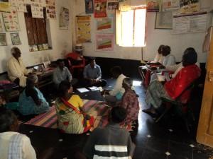 Patient group meeting in Korategere taluka  Akkirampura PHC