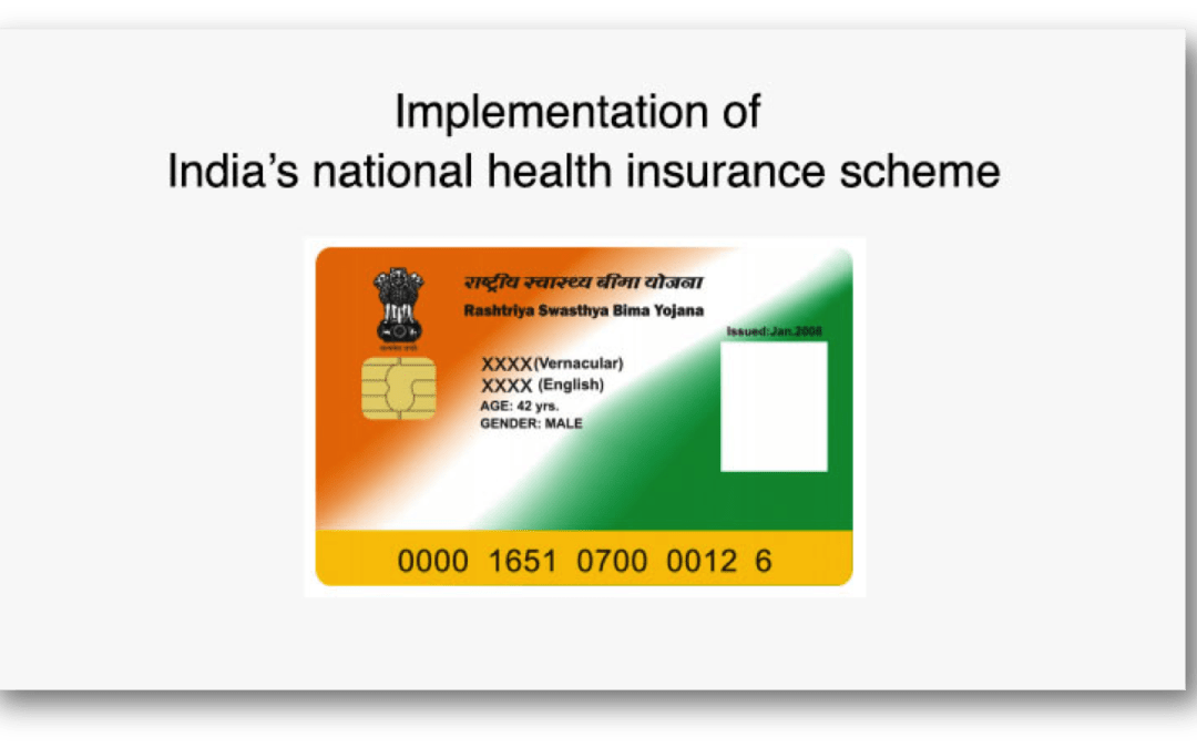 Implementation of India's national health insurance scheme: experience from the field