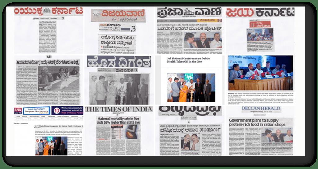 Media coverage-EPHP 2016