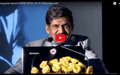 Inaugural session EPHP 2016  | Dr. K S Ravindranath