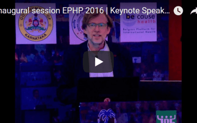Inaugural session EPHP 2016 | Keynote Speaker | Wim Van Damme