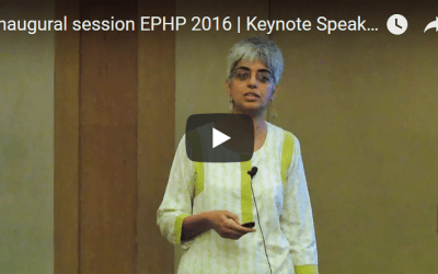 Inaugural session EPHP 2016 | Keynote Speaker | Aditi Iyer