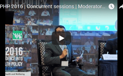 EPHP 2016 | Concurrent sessions | Moderator | Zubin Shroff