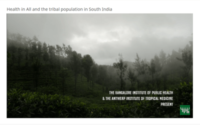 Film Screening: Health in All and the Tribal Population in South India