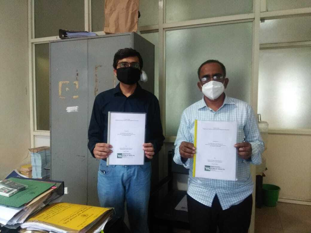 Consultancy project with the State Anti-Tobacco Cell