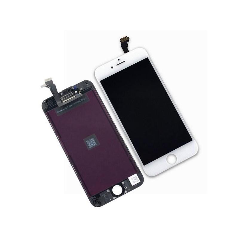 ecran bloc complet ecran iphone 6 blanc