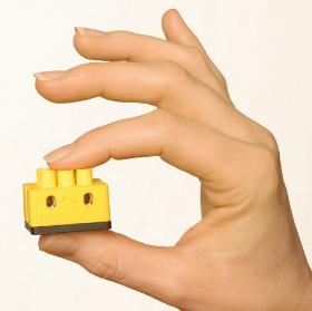 Etwas größer als ein Legostein und deutlich intelligenter
