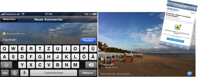 Fotostream geteilt iPhone