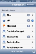 Mail iOS 6