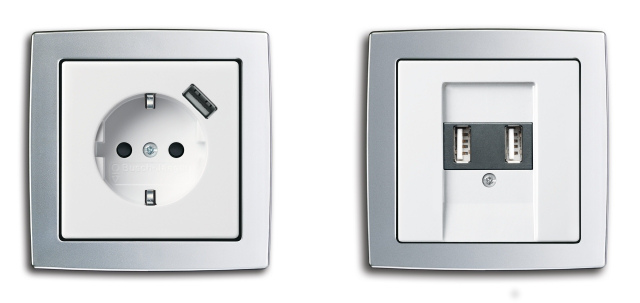 mini ladekabel steckdose mit usb anschluss iphone fan. Black Bedroom Furniture Sets. Home Design Ideas