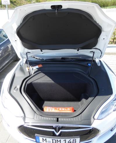 Tesla Frunk Motorhaube