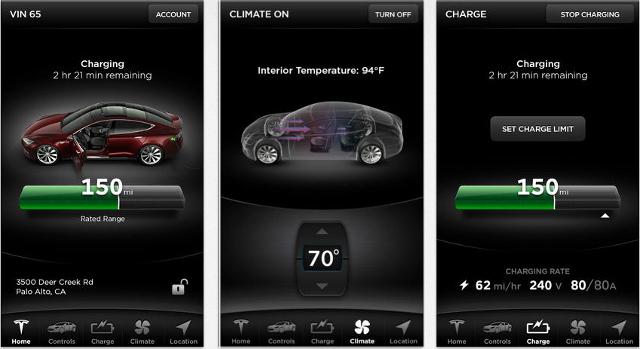 Per iPhone-App aus der Ferne Heizung oder Klimaanlage einschalten und den Ladezustand kontrollieren