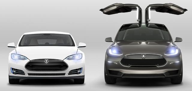 Tesla S und Tesla X