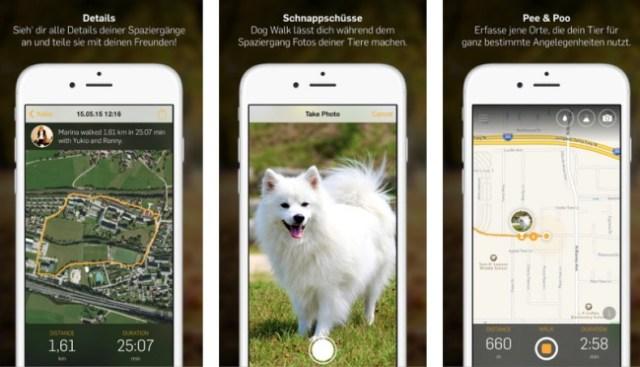 Tractive App Dog Walk