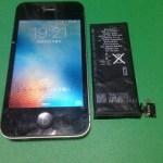 【修理実績No.209】iPhone4Sのバッテリー交換