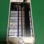 【修理実績No.263】iPhone6のフロントパネル液晶割れ