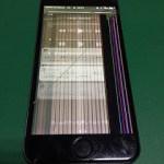 【修理実績No.278】iPhone6のフロントパネル液晶割れ