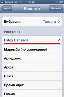 Cum să puneți un ton de apel pe apelul iPhone