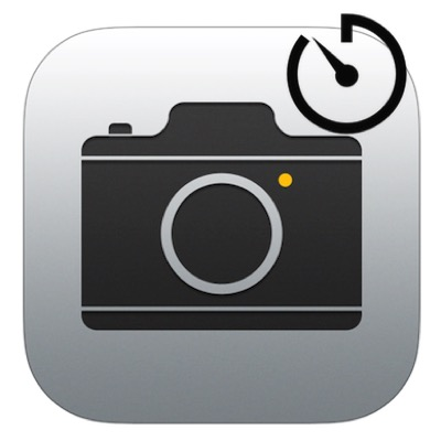 iPhone標準カメラのセルフタイマーのやり方!連写解除について