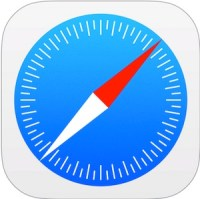 safariアプリ アイコン