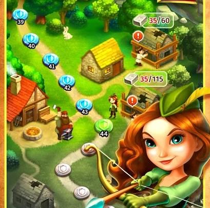 تحميل لعبة Robin Hood Legends