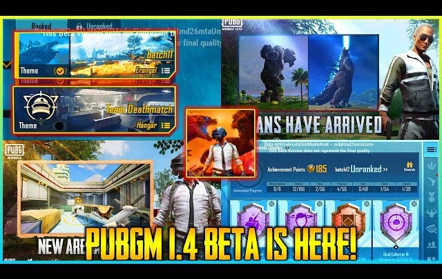 pubg mobile 1.4 update download