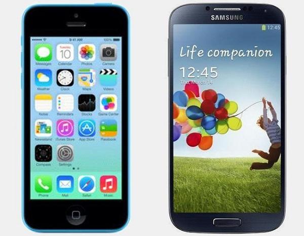 iphone-5c-vs-galaxy-s4