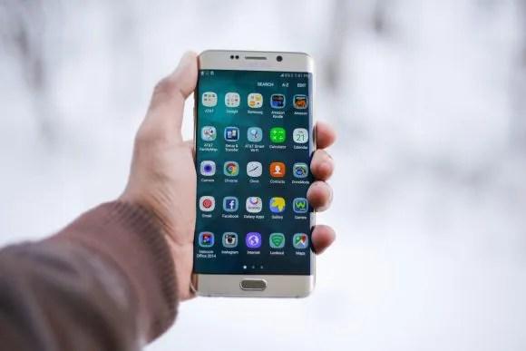 Samsungのスマートフォンの画像