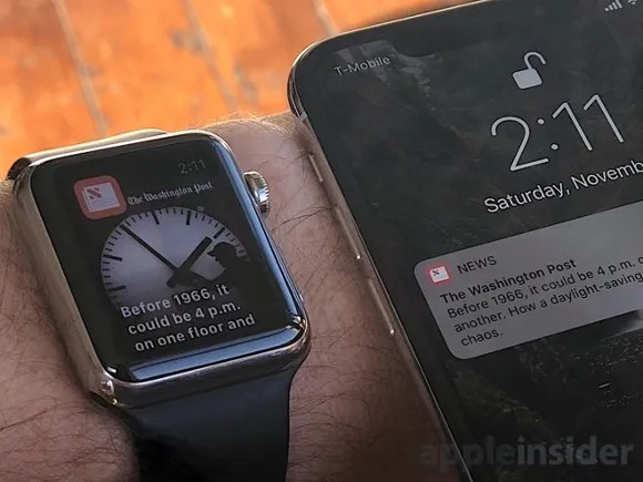 Apple Watch iPhone X