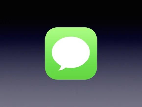 iOS メッセージ アイコン